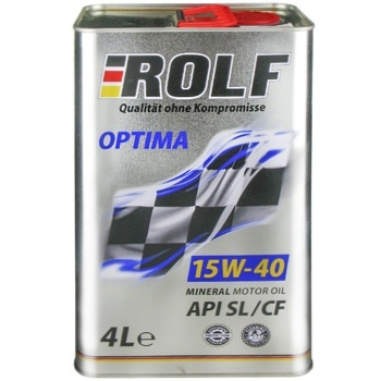 ROLF OPTIMA SAE 15W40 SL/CF 4L - купить, цены на Метро - фото 1