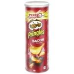 Чипсы Pringles Бекон 165г