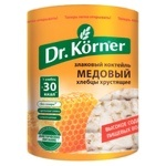 Хлебцы Dr. Korner зерновые/мёд 100г