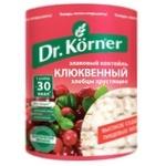 Хлебцы Dr. Korner зерновые/клюква 100г
