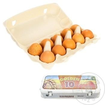 Oua de gaina Golden Egg 10 buc - cumpărați, prețuri pentru Metro - foto 1