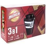 Набор растворимый кофе Жокей 3в1 20 штук х 12г + чашка