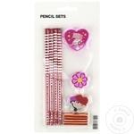 Набор карандашей + аксессуары для мальчика/девочки