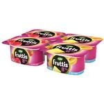 Йогурт Campina Fruttis с малиной/ананасом 8% 4x115г