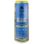 Пиво светлое Volfas Engelman Blanc ж/б 0,568л