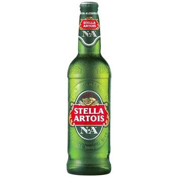 Безалкогольное пиво Stella Artois стекло 0,5л - купить, цены на Метро - фото 1