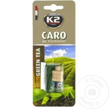 K2 ODORIZANT AUTO CARO 4ML - купить, цены на Метро - фото 3