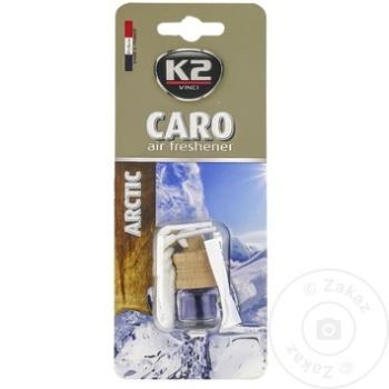 K2 ODORIZANT AUTO CARO 4ML - купить, цены на Метро - фото 4