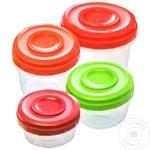 Набор из 4 пищевых контейнеров Twister