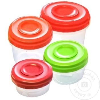 Set 4 cutii alimentare Twister - cumpărați, prețuri pentru Metro - foto 1