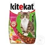 Hrana uscata pentru pisici Kitekat vitel 350g