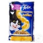 Корм для кошек Felix шпинат/утка 100г