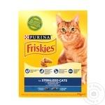 Hrană uscată pentru pisici Friskies Sterilized 270g