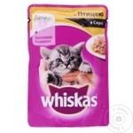 Корм для кошек Whiskas junior курица 85г