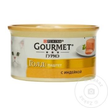 Hrană pentru pisici Gourmet curcan 85g - cumpărați, prețuri pentru Metro - foto 1