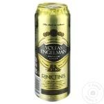 Пиво светлое Volfas Engelman Rinktinis ж/б 0,568л