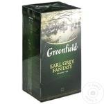 Ceai Greenfield negru cu bergamota in plicuri 25x2g