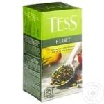 Чай Tess зеленый в пакетиках Flirt 25x1,5г