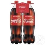 Băutură răcoritoare carbogazoasă Coca Cola PET 2x1,5l