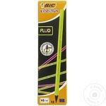 Creioane Bic Grafit Fluo 12buc