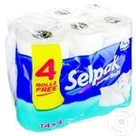 Hârtie igienică Selpak 3 straturi 14 + 4 role