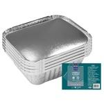 Caserolă aluminiu cu capac METRO Professional 10 bucăți x 0,43l