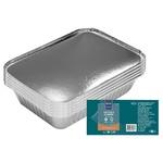 Caserolă aluminiu cu capac METRO Professional 10 bucăți x 0,92l