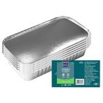 Caserole Aluminiu cu capac METRO Professional  0.51l x 10buc