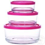Set 3 containere alimentare Gelo - cumpărați, prețuri pentru Metro - foto 1