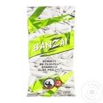 Seminte floarea soarelui Banzai albe prajite sarate 70g