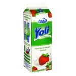 Йогурт питьевой Yoli с клубникой 1кг