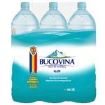 Минеральная негазированная вода Bucovina ПЭТ 6x1,5л