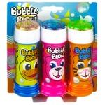 Набор мыльных пузырей 3шт