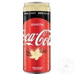Bautura racoritoare carbogazoasa fara zahar Coca Cola Vanila doza 12X0,25l