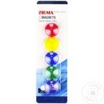 Set magneți color Sigma 3cm 5buc