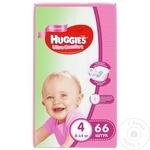SC.MEGA HUGGIES 4/8-14KG/66G