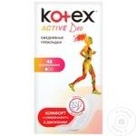 48 ABS.ZILN.KOTEX ACTIVE DEO