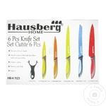 Ножи из керамики Hausberg 6шт