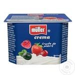 Crema de iaurt Muller cu fructe de padure 125g