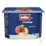 Crema de iaurt Muller cu piersici 125g