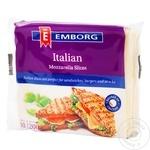 Сыр Emborg Mozzarella нарезанный 200g
