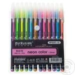 Set de pixuri colorate Neon 12buc