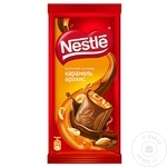Шоколад молочный Nestle карамель/арахис 90г