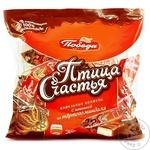 Вафельные конфеты с шоколадом Победа Птица Счастья 200г