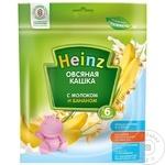 Каша овсяная с молоком и бананом Heinz 200г