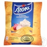 Chips Lux cu gust de smântână 71g