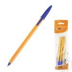 Pix albastru fine Bic Orange set 3buc