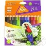 Creioane colorate Rio 24buc