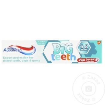 Зубная паста для детей Aquafresh 50мл - купить, цены на Метро - фото 1