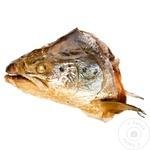 Голова лосося Асамблор горячего копчения кг